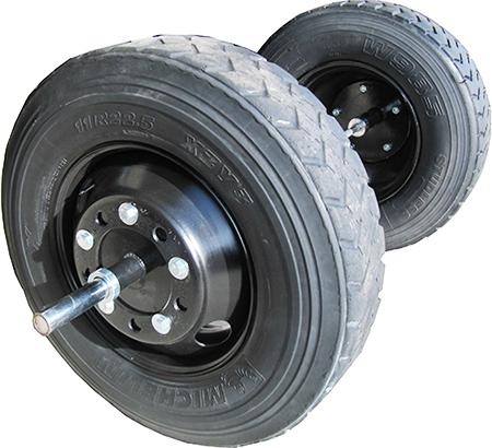 strongman axle wheels - apollon wheel semi truck for sale