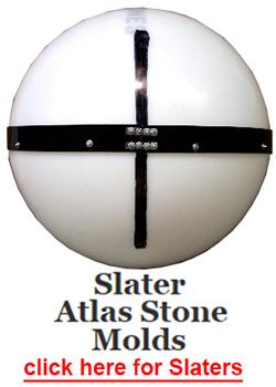 Atlas stone molds from Steve Slater